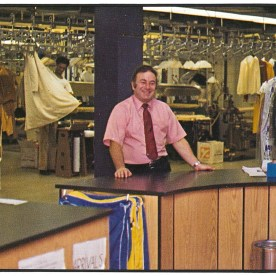 FIT's dry cleaning lab, 1981.