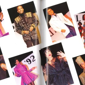 The Soul Club spread in the 1992 book epitomizes early-'90s African-American style.