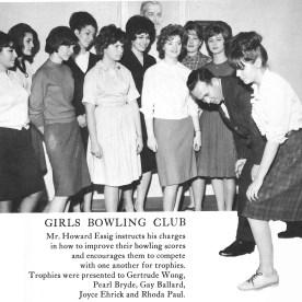 Girls Bowling Club