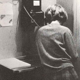 """""""By the way, there's a ten-minute limit on the phone."""" 1967"""