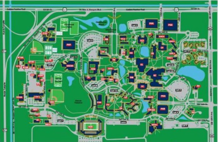Campus Map Fiu Main