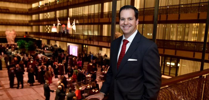 Marc Rosa at the 2017 President's Club Christmas Reception