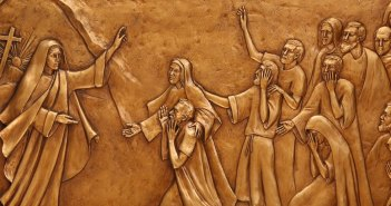 Mary Magdalene proclaims the first Easter homily, by Margaret Beaudette