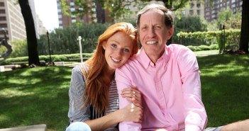 Mentor Joe Cirillo and his daughter Clare