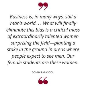 women in business gabelli school