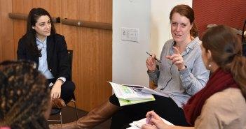 Grad Ed Students Talk Teamwork With Law Students