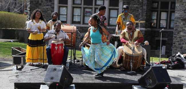 perform at the Second Annual Bronx Celebration Day.