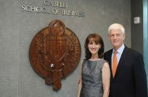 Ragina Pittaro and Mario Gabelli