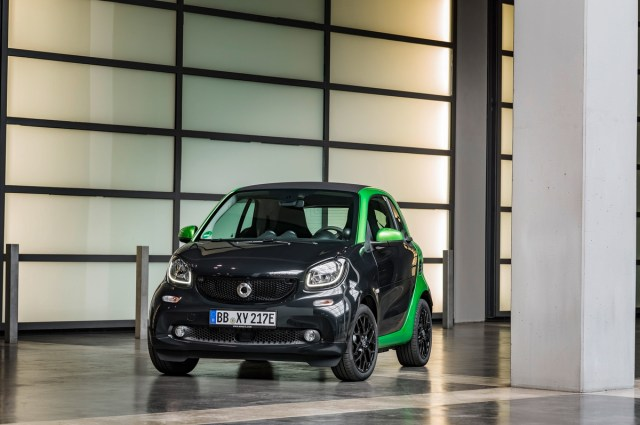 2017 smart fortwo coupe electric drive