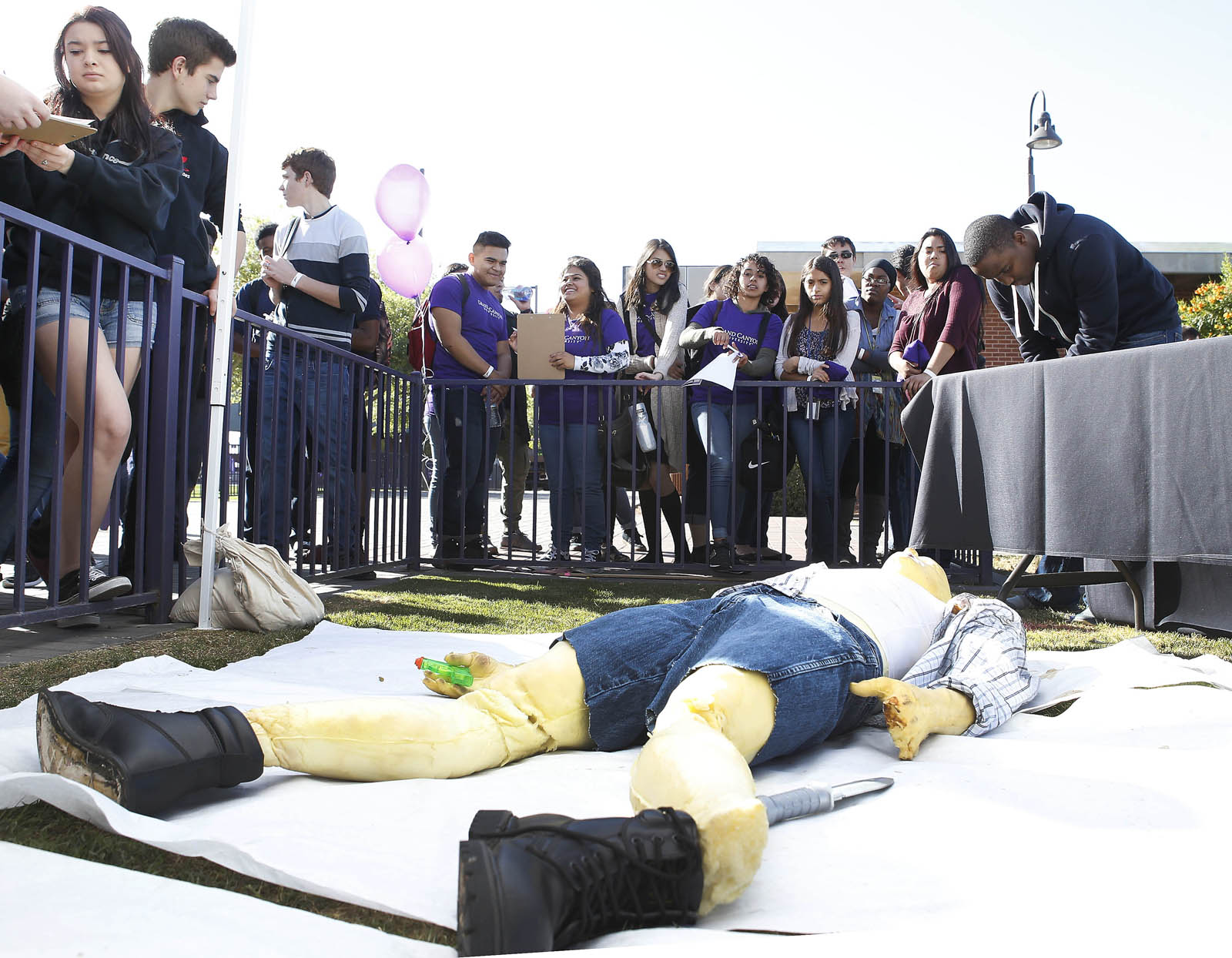 High School Students Flock To Gcu For Forensic Science Day