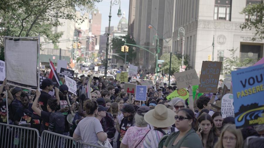 Climate strike, New York City