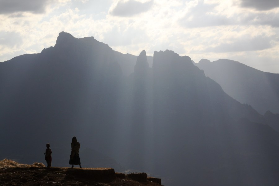 In the Simien Mountains, distinguished by its shadowed valleys and soaring pinnacles. Donald Macauley, Flickr