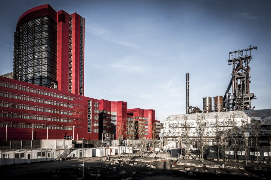 In one of Europe's biggest urban development projects, Belval is weaving in some of its historic production sites with more modern architecture. Tobias Mandt, Flickr