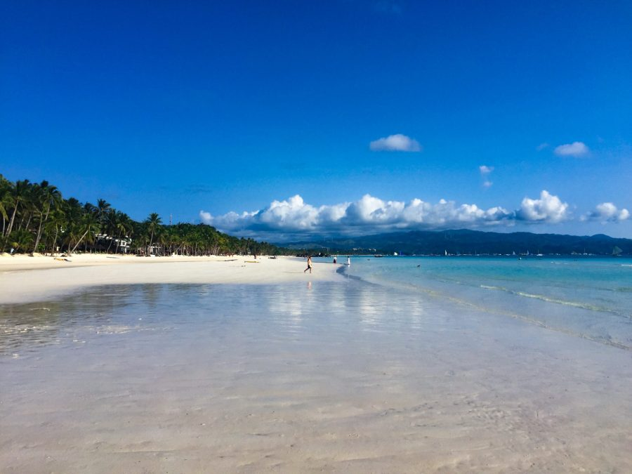 In 2018, the beaches of Boracay were closed to visitors for six months to be cleaned up of the waste and pollution that had accumulated. Justin K. Davey