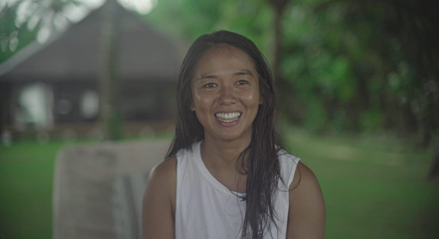 Marja Abad, founder of Siargao Environmental Awareness (SEA) Movement. Justin K. Davey