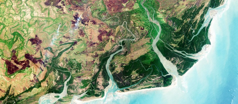 The Zambezi Delta in Mozambique, where the Green Climate Fund is supporting projects on food-security for women and ecosystem-based adaptation to climate change.