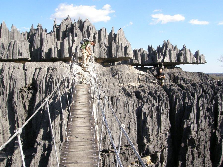 Backpacking through Tsingy de Bemaraha National Park in western Madagascar. Rafael Medina, Flickr