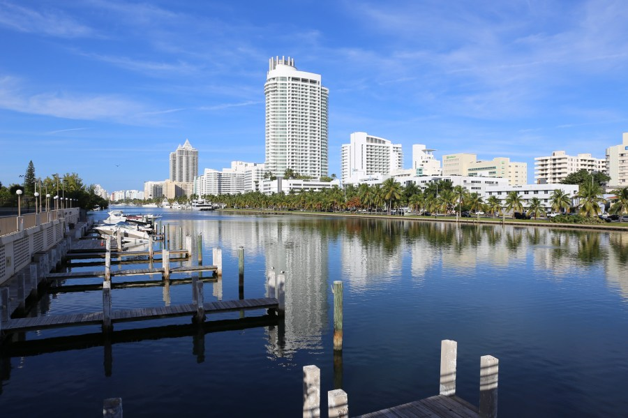 A new USD 4.6 billion plan will aim to protect Miami from rising sea levels. Mack Male, Flickr