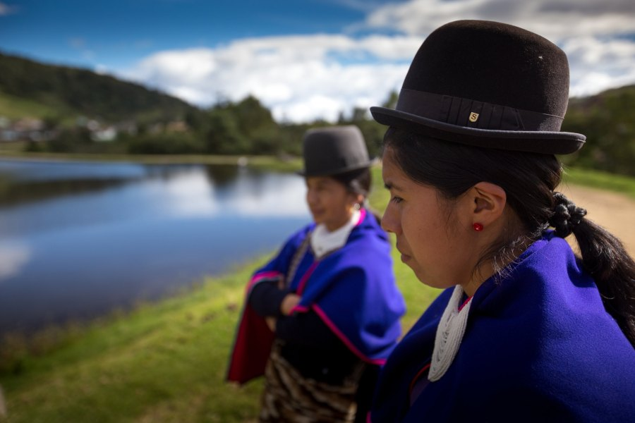 Indigenous women in Colombia are often defenders of territorial and environmental rights. Sixty-four environmental defenders were killed in the country last year. GPA Photo Archive