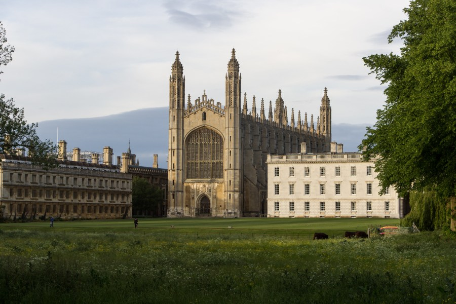 King's College Chapel at the University of Cambridge, which said it will transform its USD 4.5 billion endowment fund's portfolio of investments to have net-zero greenhouse gas emissions by 2038. Billy Wilson, Flickr