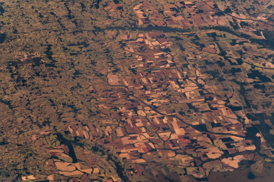 Large parts of the Amazon rainforest are being deforested to convert into agricultural lands. Alexander Gerst, Flickr