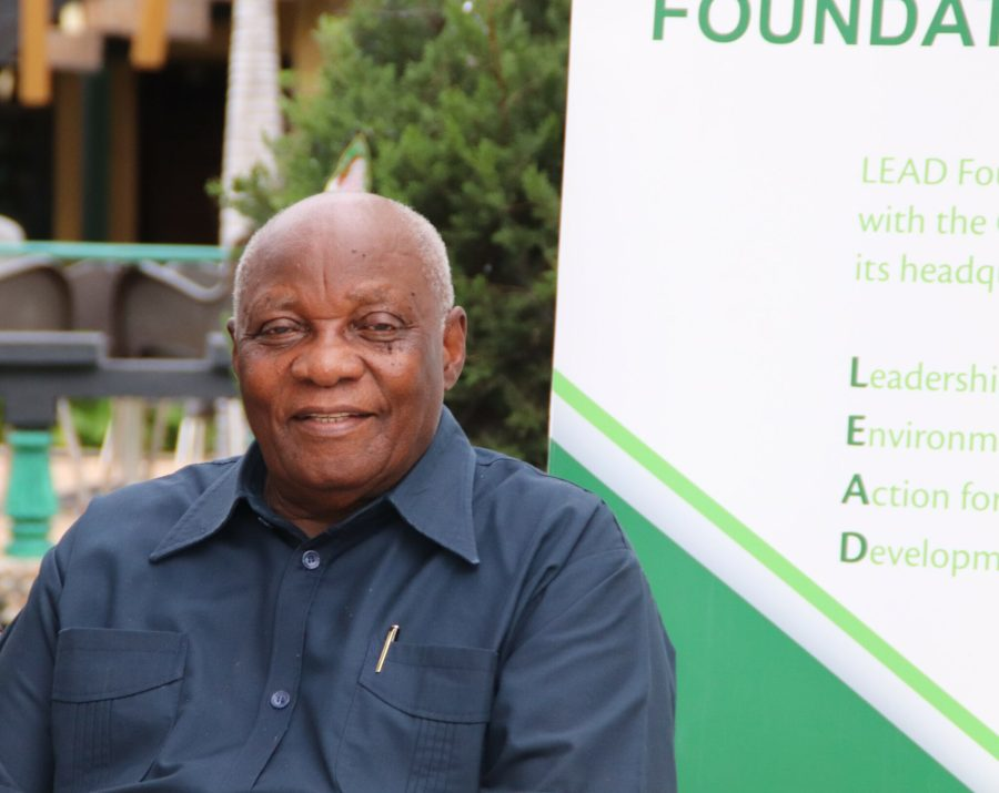 Bishop Dr. Simon Chiwanga, founder of Tanzania's FMNR-focused LEAD Foundation. Courtesy of the LEAD Foundation