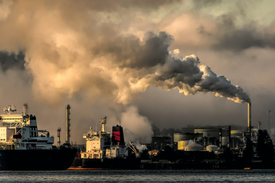 The concentration of carbon dioxide in the atmosphere has hit record levels. Chris LeBoutillier,Unsplash