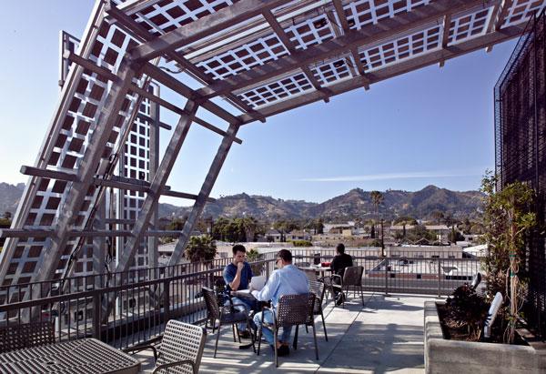 Sierra Bonita - roof terrace