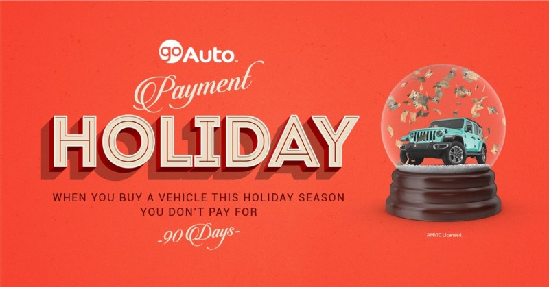 Go Auto No Payments for 90 Days