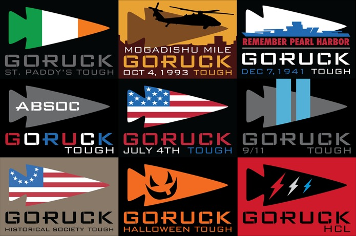 GORUCK_Special patches