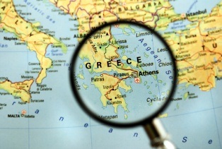 European Travel Commission  Greece Among Top Destinations in Europe     Greece map