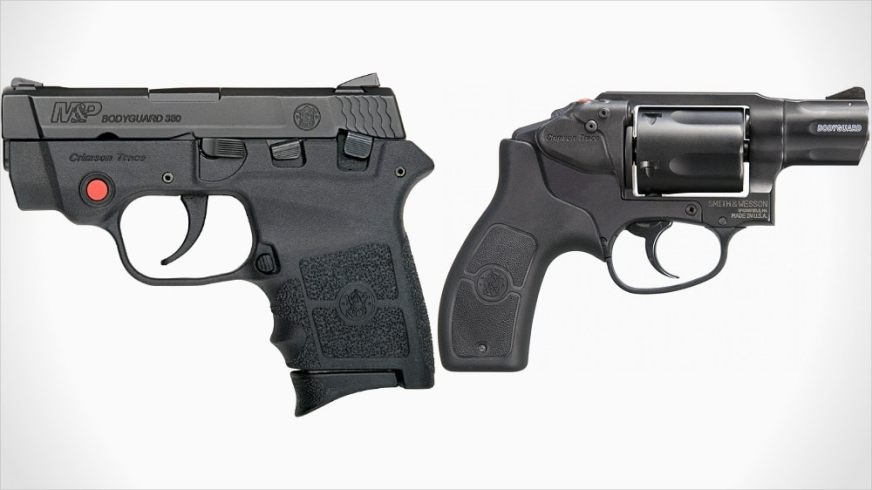 New M&P Bodyguard handguns with Crimson Trace laser sights ...