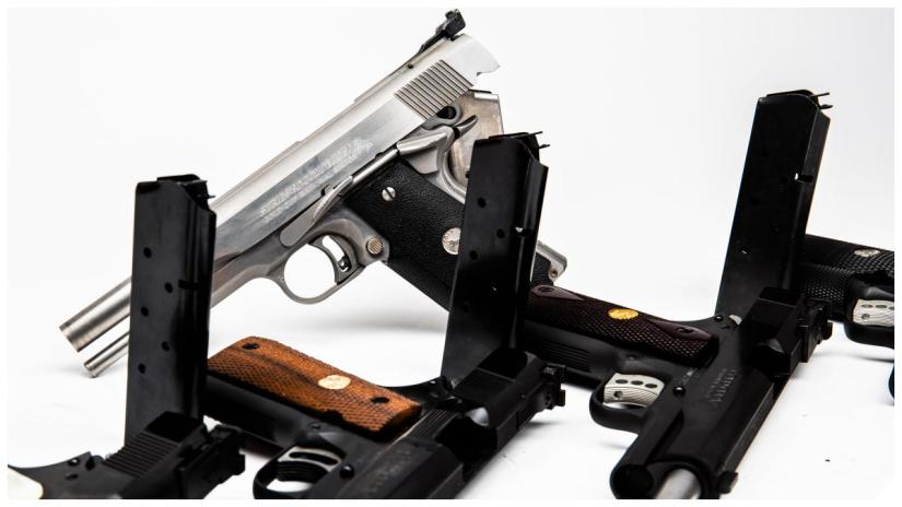 Colt Gold Cups 70 and 80 series National Match and Trophy models