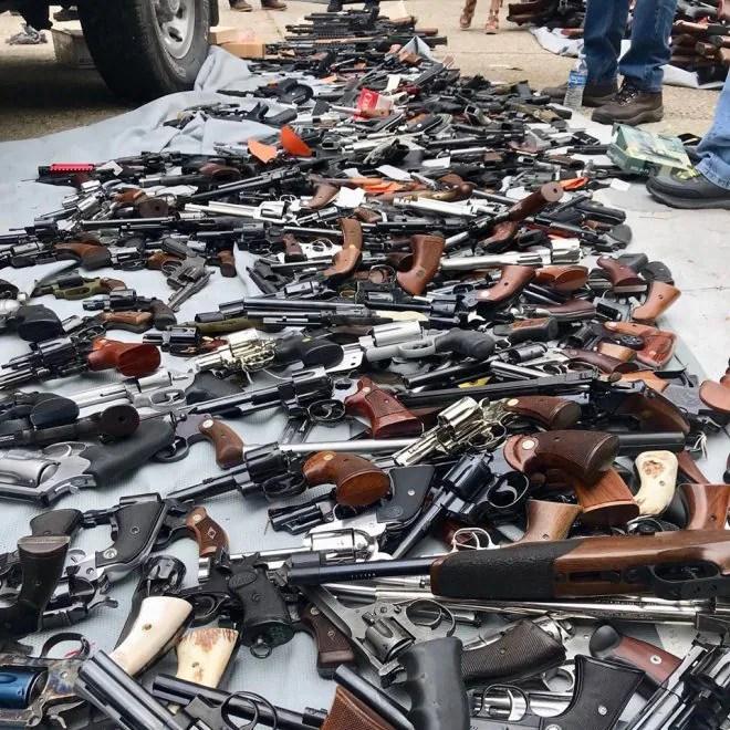 LAPD Impound 1,000 Guns from California Man (PHOTOS) (1)