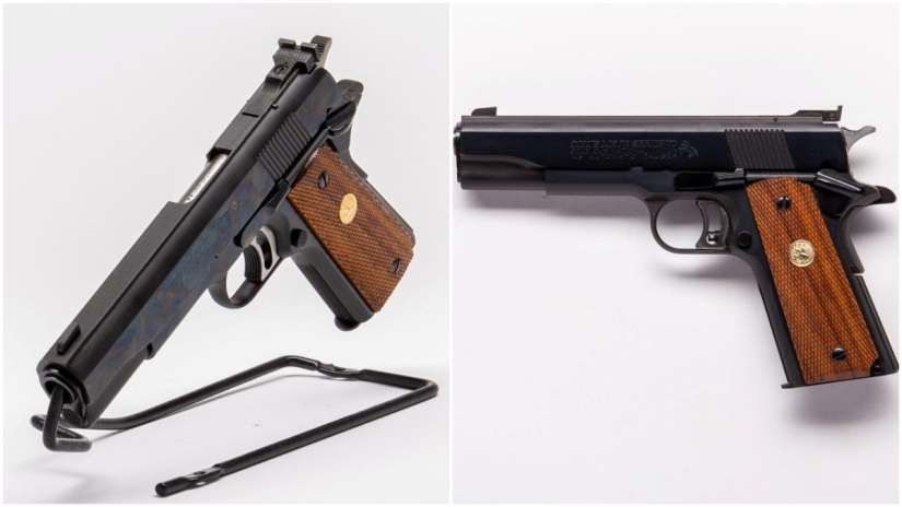 This MK IV Series 70 Colt Gold Cup National Match from 1983
