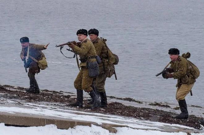 recreation of the Petsamo-Kirkenes offensive Kola Bay 2019 (1)