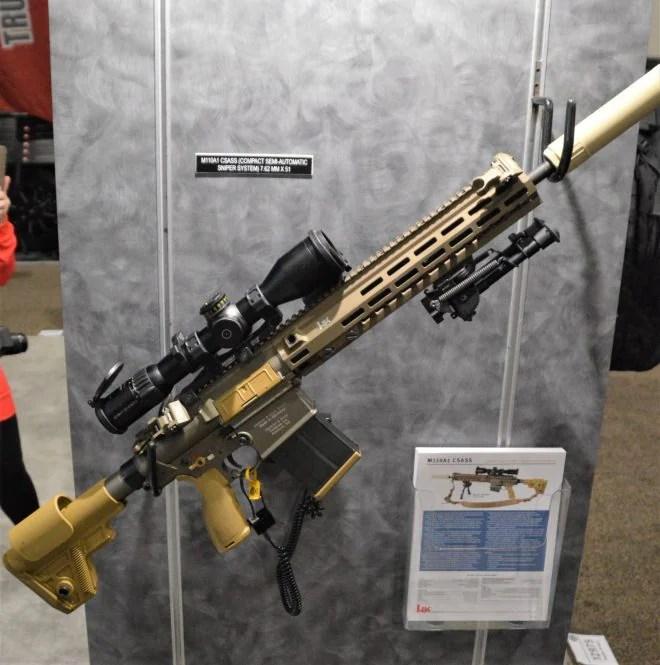 The very similar M110A1 CSASS, also made by HK. (Photo: Chris Eger/Guns.com)