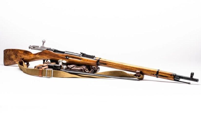 The most common Mosin-Nagant variant: the M91/30 (Photo: Richard Taylor/Guns.com)