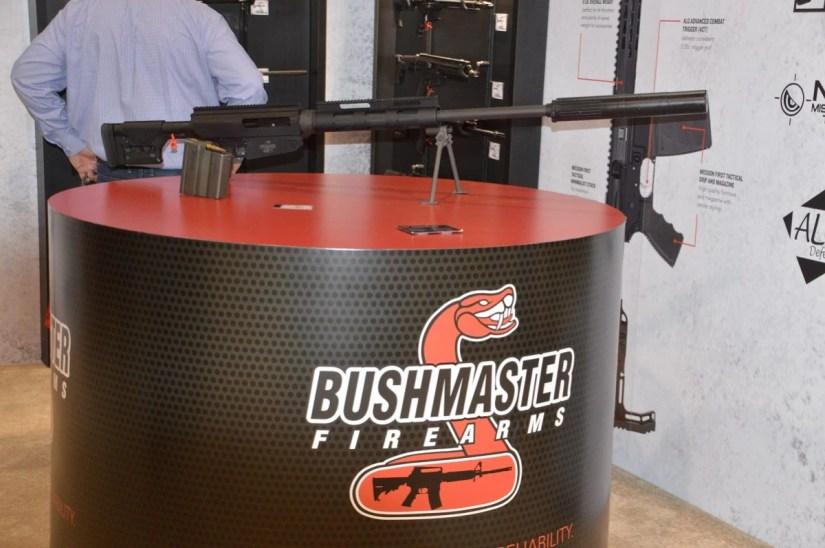 Bushmaster BA50 rifle Eger