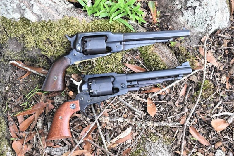 Remington New Army Ruger Old Army compared (3)