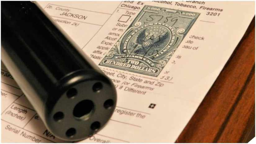 National Firearms Act tax stamp