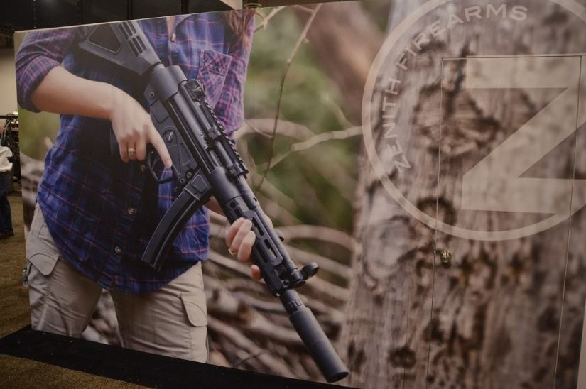 Zenith markets over a dozen ZP5 series pistols and rifles