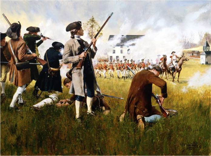 Stand Your Ground by Don Troiani Lexington
