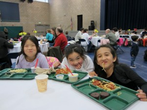 Second Annual Spaghetti Dinner Delights First and Second Grade Families