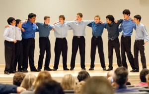 Music of America Takes Center Stage at Vocal Concert; Guys Gig, Camerata, Cantilena, Many Soloists Shine