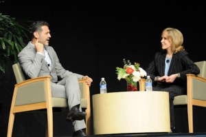 """The Kite Runner"" Author Khaled Hosseini Discusses Foundation, Writing Process in Campus Appearance Before Packed Audience"