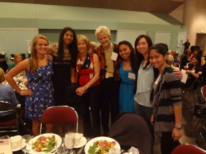 Harker Sponsors Table for Students at Annual YWCA Luncheon; Jackie Joyner-Kersee the Speaker