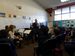 Woodwind Quintet Visits, Offers Instruction to Middle and Upper School Musicians