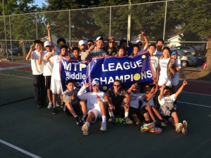 MS Tennis Goes Undefeated, Takes Both Championships, Finishes Season 20-0