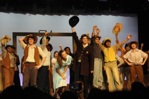 Huge Oklahoma! Cast, Including Grade 5 Students, Shined in Year-Ending Musical, With Help from Fight and Dialect Coaches